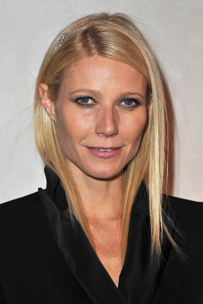 More Pics of Gwyneth Paltrow Long Straight Cut (1 of 13) - Gwyneth Paltrow Lookbook - StyleBistro