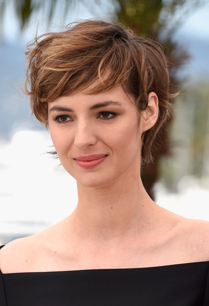 Louise Bourgoin Messy Cut [je suis un soldat,photocall - the 68th annual cannes film festival,hair,face,hairstyle,eyebrow,chin,skin,lip,beauty,blond,brown hair,louise bourgoin,photocall,cannes,france,cannes film festival on may 20]