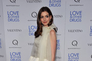 Actress Anne Hathaway attends a screening of