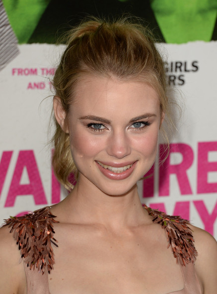 Lucy Fry Ponytail