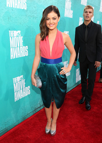 Lucy Hale Cocktail Dress
