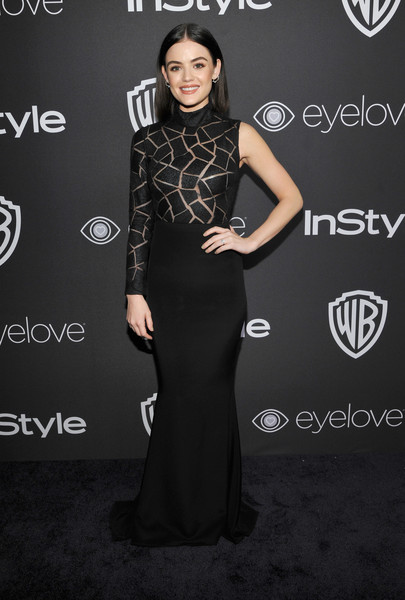 Lucy Hale Evening Dress