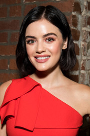Lucy Hale stuck to her signature bob when she attended the St. Jude luncheon.