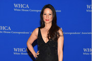 Lucy Liu Beaded Dress
