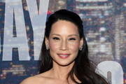 Lucy Liu Half Up Half Down