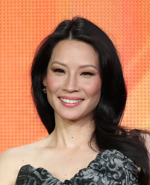 Lucy Liu Long Straight Cut