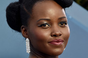 Lupita Nyong'o Diamond Chandelier Earrings