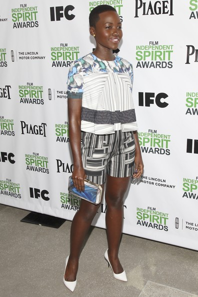 Lupita Nyong'o Dress Shorts