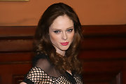 Coco Rocha arrived at the 2012 Lycee Francais de New York Gala wearing her shiny mane in voluminous waves and curls.