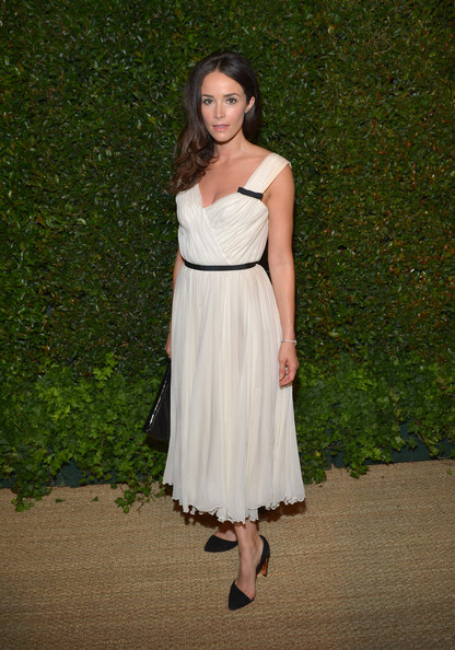 More Pics of Abigail Spencer Evening Dress (1 of 2) - Abigail Spencer Lookbook - StyleBistro