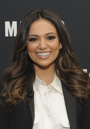 Bethany Mota attended the MAKERS Conference wearing perfectly styled curls.