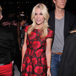 Tinsley Mortimer at Carolina Herrera