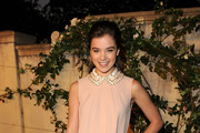 Actress Hailee Steinfeld arrives at Lucrecia Martel's