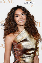 Heidy De La Rosa looked fabulous with her voluminous curls at the Mizani 25th anniversary event.