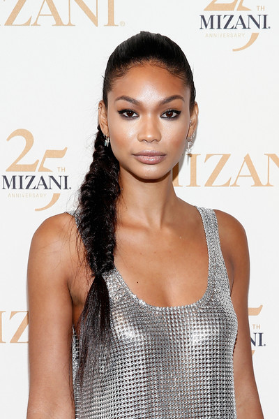 Chanel Iman's Fishtail Braid