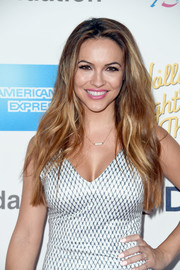 Chrishell Stause opted for a pale pink mani when she attended the MPTF 95th anniversary celebration.