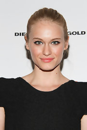 Leven Rambin swept blue liner across her upper  lids for the 'Machine Gun Preacher' premiere. Instead of going for the classic black liquid liner, she tried something a little different. To recreate her look at home, we recommend a product like M.A.C. Powerpoint Eye Pencil in Prussian.