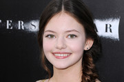 Mackenzie Foy Loose Braid