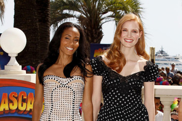 "Jada Pinkett Smith Jessica Chastain ""Madagascar 3"" Photocall - 65th Annual Cannes Film Festival"