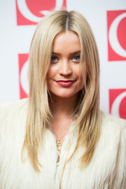 Flippy layers is Laura Whitmore's signature haircut.