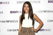 Madison Beer Mini Skirt