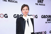 Maggie Gyllenhaal Leather Slip On Shoes