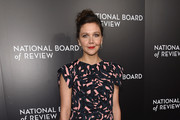 Maggie Gyllenhaal Print Dress