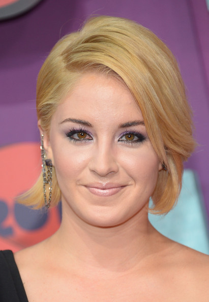 Maggie Rose Bob [arrivals,maggie rose,cmt music awards,hair,face,hairstyle,eyebrow,blond,chin,eyelash,forehead,skin,bob cut,bridgestone arena,nashville,tennessee]