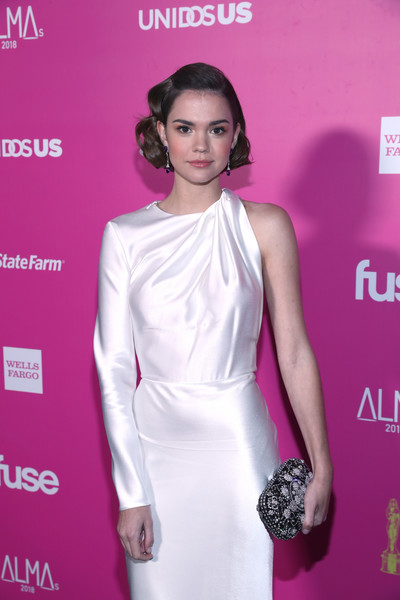 Maia Mitchell Beaded Clutch