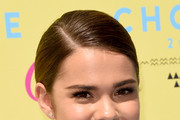 Maia Mitchell Long Braided Hairstyle