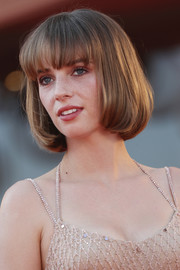 Maya Hawke kept it sweet and youthful with this bob at the Venice Film Festival screening of 'Mainstream.'