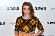 Maisie Williams Embellished Top