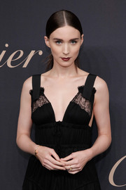 Rooney Mara attended the 100th anniversary of the Emblem la Panthere de Cartier wearing the brand's Juste un Clou bracelet.