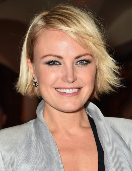 Malin Akerman Side Parted Straight Cut