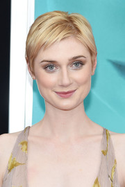 Elizabeth Debicki's golden pixie looked absolutely darling at the New York premiere of 'The Man from U.N.C.L.E.'