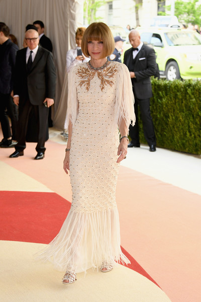 Anna Wintour at the 2016 Met Gala
