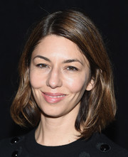 Sofia Coppola attended the Marc Jacobs fashion show wearing her hair in a casual bob.