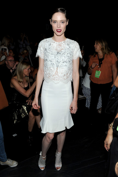 Coco Rocha at Marchesa