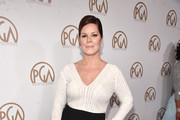 Marcia Gay Harden Fishtail Dress