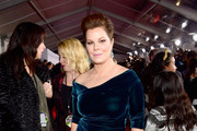 Marcia Gay Harden Form-Fitting Dress