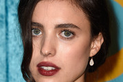 Margaret Qualley Bobby Pinned updo