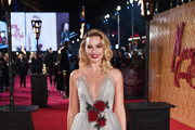 Margot Robbie Princess Gown