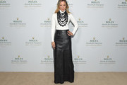 Maria Bello Long Skirt