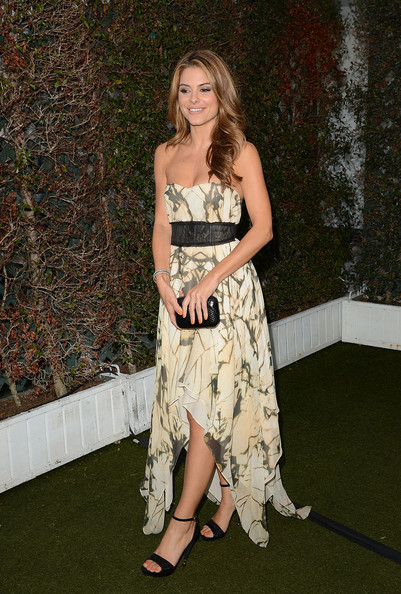 Maria Menounos Box Clutch