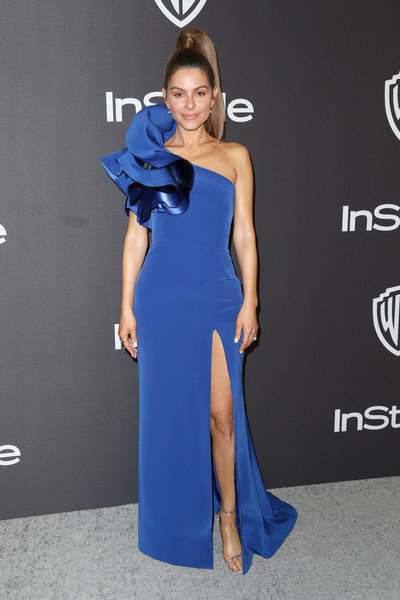 Maria Menounos One Shoulder Dress [cobalt blue,dress,clothing,fashion model,shoulder,electric blue,blue,carpet,cocktail dress,red carpet,maria menounos,beverly hills,california,the beverly hilton hotel,instyle,golden globes,warner bros.,arrivals,party]