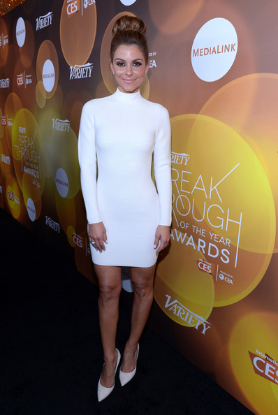 Maria Menounos Sweater Dress