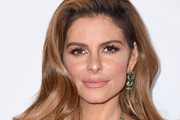 Maria Menounos Gemstone Chandelier Earrings