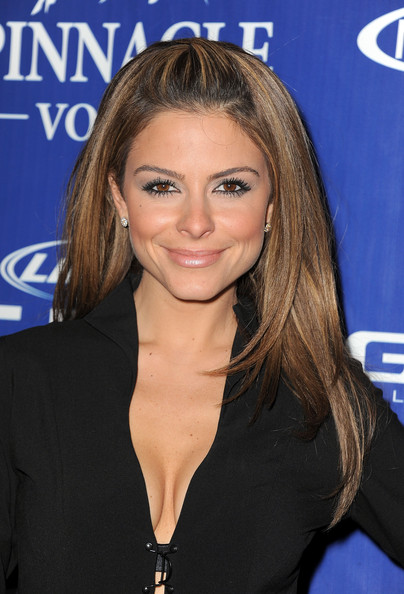 Actress Maria Menounos attends the Bud Light Hotel Playboy Party with ...