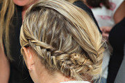Maria Sharapova Braided Updo