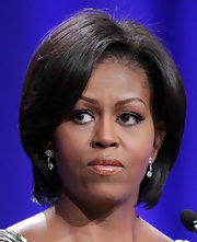Michelle Obama kept it simple and classic with a bob at the 2010 Women's Conference.